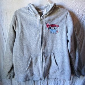 Disney Eeyore's sweater shirt big Eeyore on back